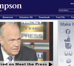 Fred Thompson - Fred08 and FredPAC